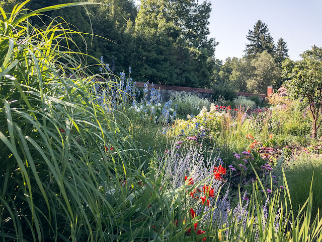 Biltmore Gardens in the Summer