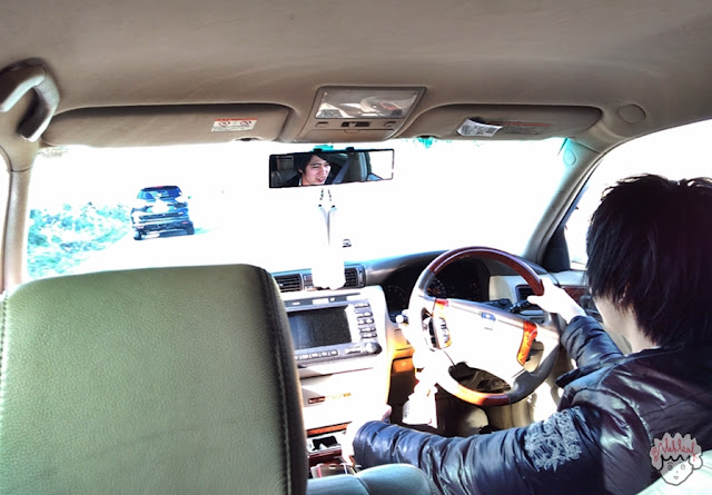 Akira while driving journeyofalek.com