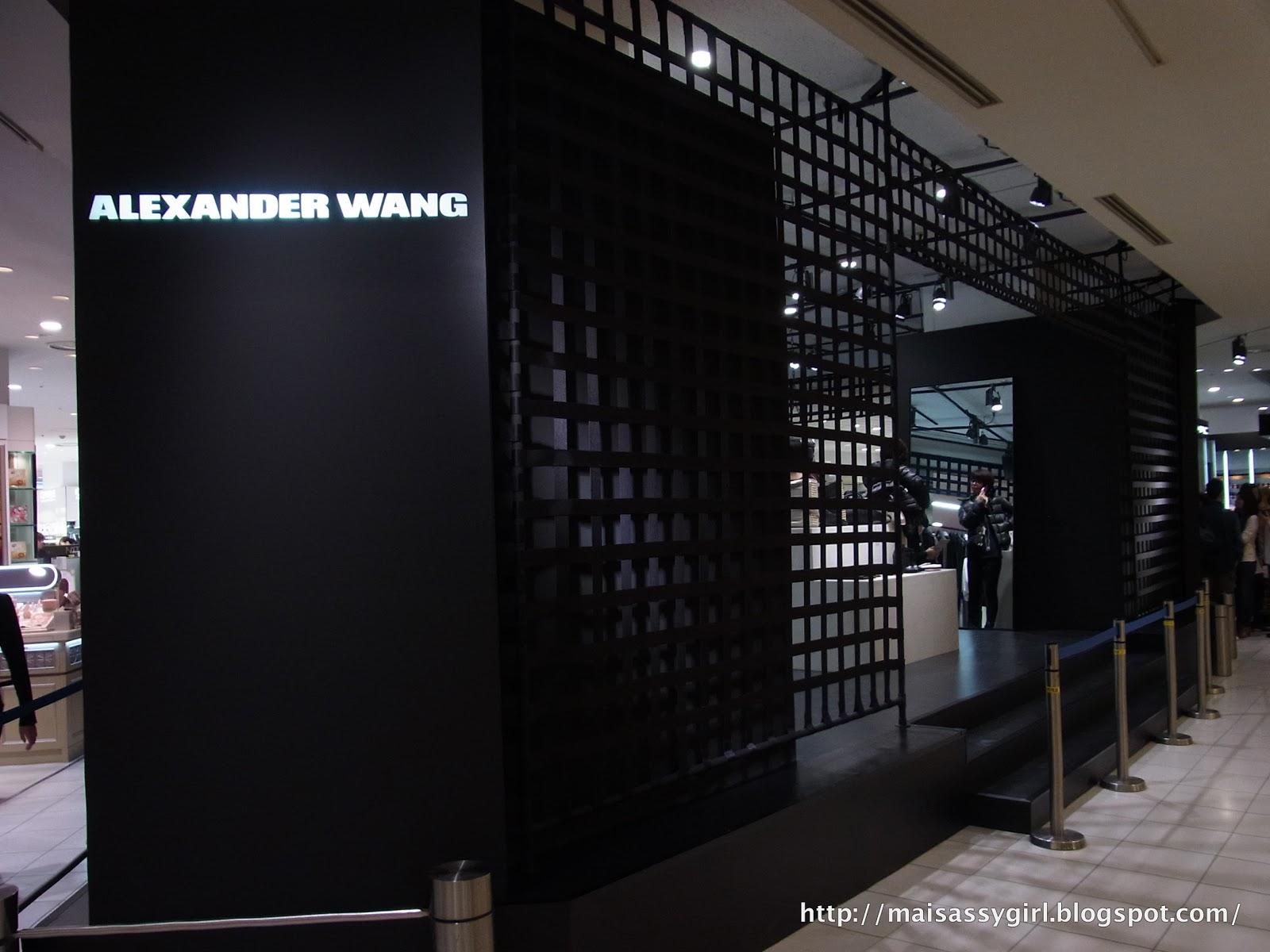 Maisassygirl Alexander Wang Pop Up Store Shinjuku