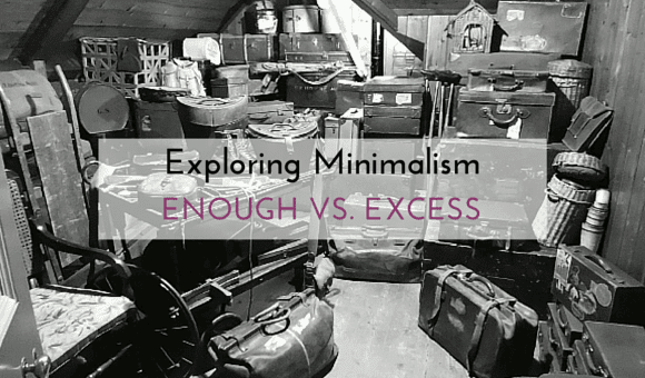 Minimalism: Enough vs. Excess www.kwananju.com