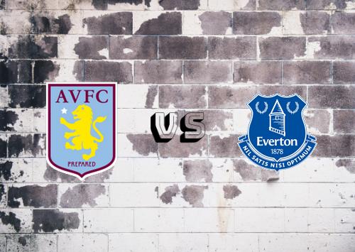 Aston Villa vs Everton  Resumen y Partido Completo