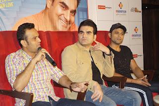 अरबाज खान ने दिल्ली में किया रोमांटिक कॉमेडी फिल्म 'जैक एंड दिल' का प्रमोशन