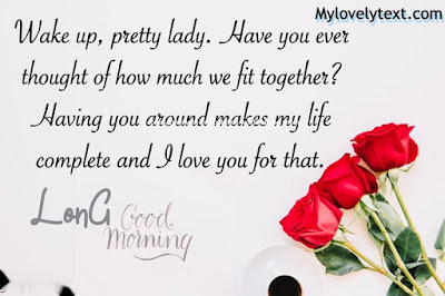 Long Good Morning Love Message For Her