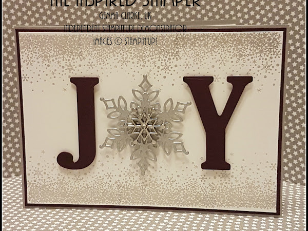 Stampin'Up! Joy Christmas Card