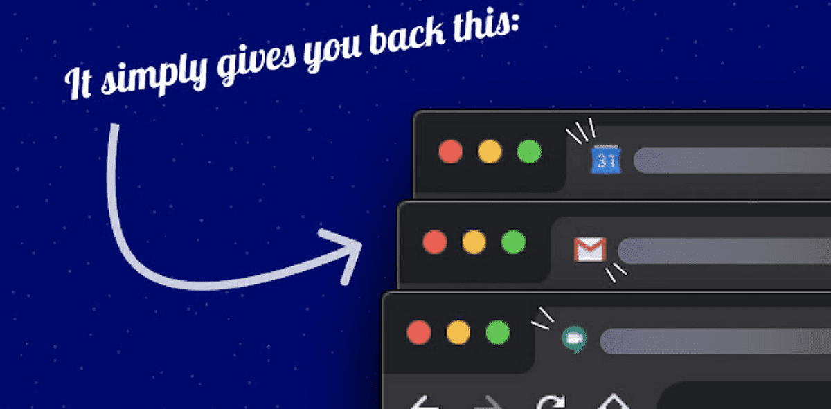 Restore old Google icons 擴充功能