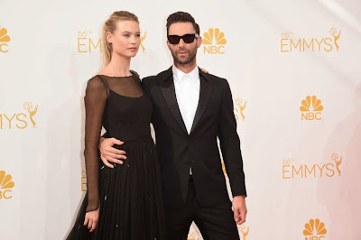 Adam Levine 66th Emmy Awards