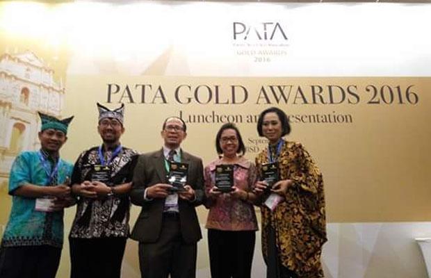 Penghargaan PATA untuk Lalare Orkestra Banyuwangi.