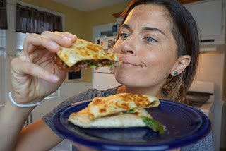 vegan quesadilla, recipe, hummus quesadilla, vegan recipes, quesadilla recipe, quesadilla, dairy free quesadilla, recipe thursday, jaime messina