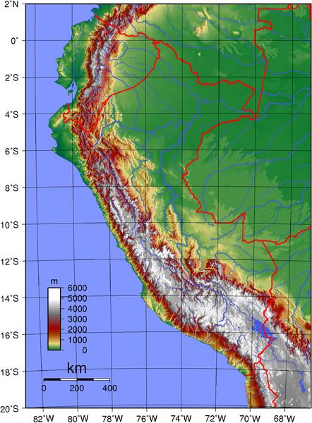 Relieves del Perú