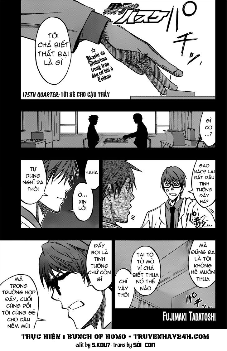 Kuroko No Basket chap 175 trang 1
