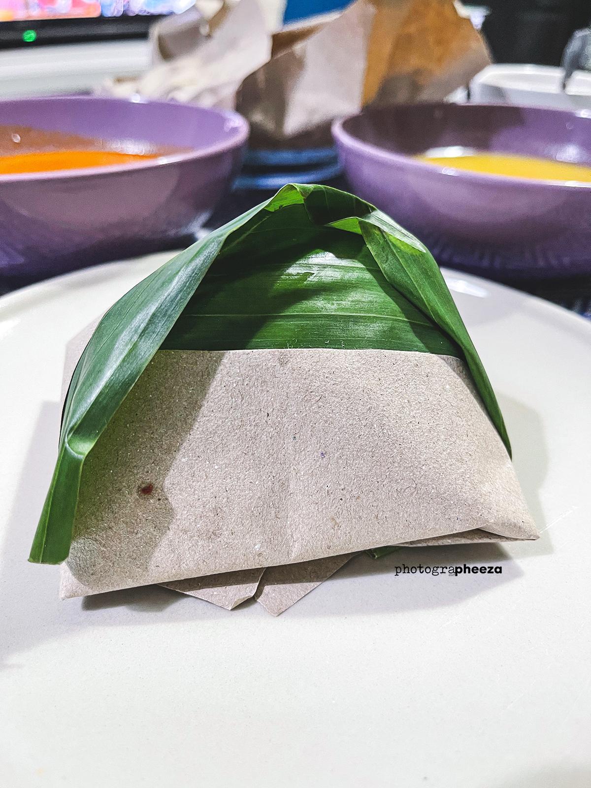 Nasi Lemak Bungkus Daun Pisang