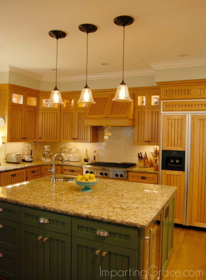 Install Pendant Lights Over Kitchen Island Step By Step