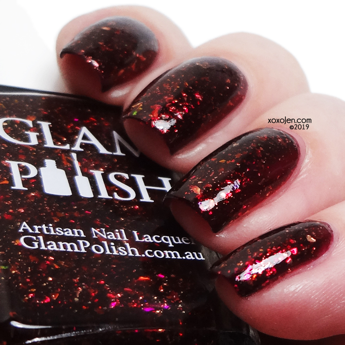 xoxoJen's swatch of Glam Polish Vulnera Sanetur