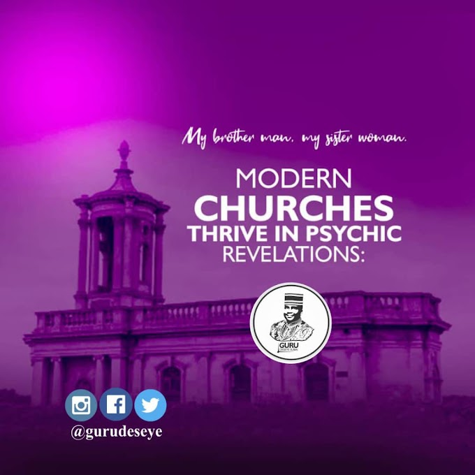 MODERN CHURCHES THRIVE IN PSYCHIC REVELATIONS