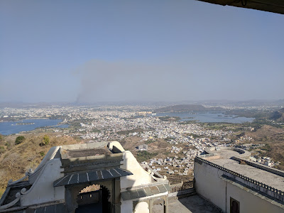 View from Sajjangarh Fort, Udaipur