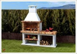 Decorar Con Una Barbacoa Portatil El Jardin