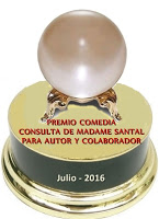Regalo de Madame Santal el 3/07/2016