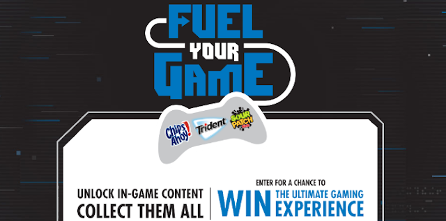 Chips Ahoy, Trident and Sour Patch Kids want you to enter daily for your chance to win a trip to the 2020 E3 Expo or you might win some cool gaming stuff!