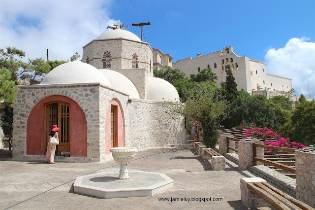 Things to do - Monastery of Prophet Elias, Santorini
