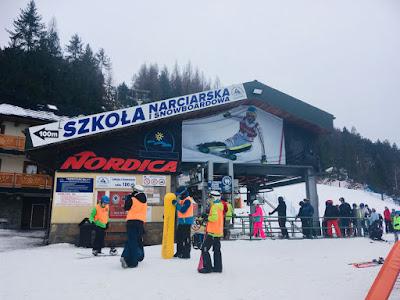 Szkoła narciarska i snowboardowa Czorsztyn Ski, góra Wdżar, Kluszkowce