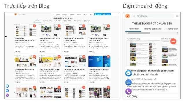 Giao diện blogspot thietkeblogspot.com đang sử dụng