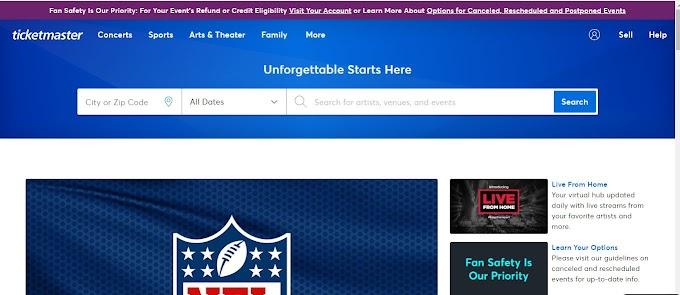 美國訂票網站,可以訂到各類職業運動比賽與藝文表演、演唱會