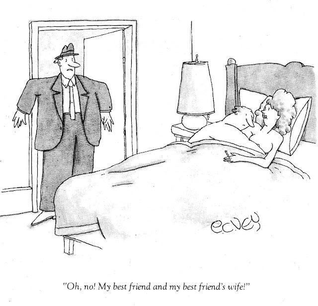 an E.C. Vey cartoon for National Lampoon Magazine