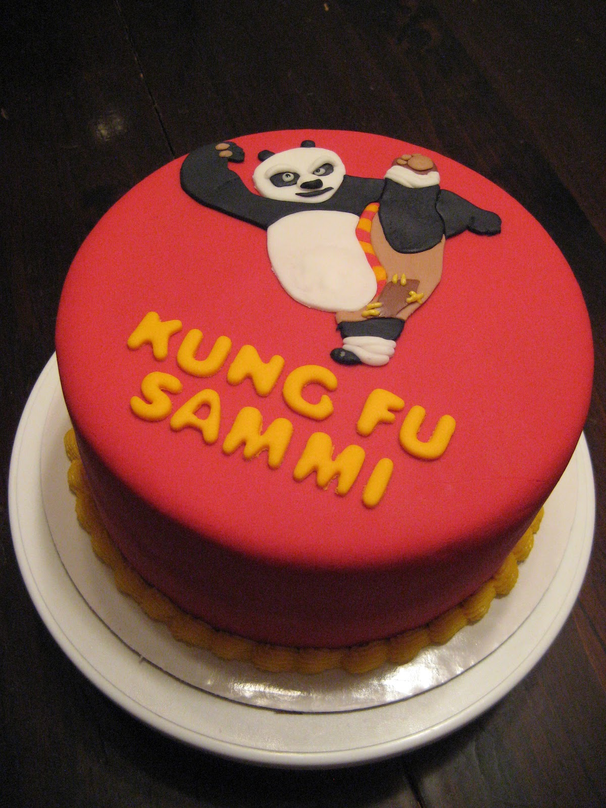 Cricket S Creations Kung Fu Panda Cake