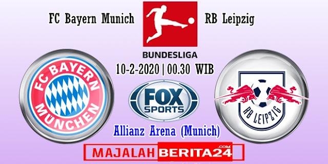Prediksi Bayern Munich vs RB Leipzig — 10 Februari 2020