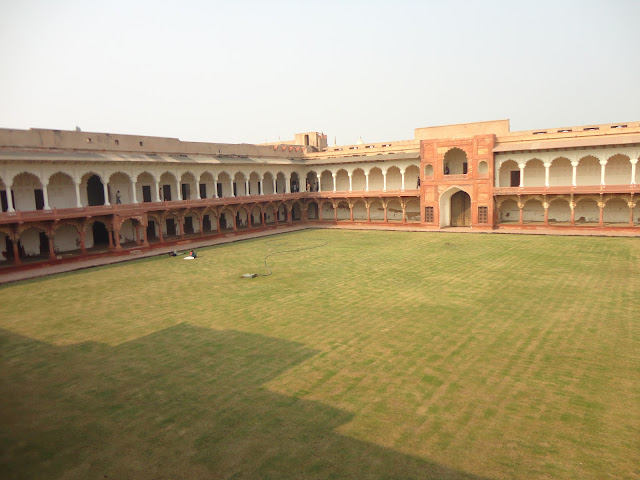 Machli Mahal at Agra Fort Agra