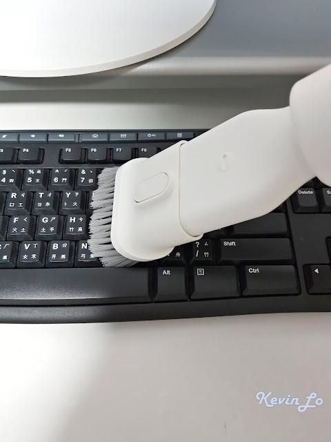 【MI 小米】米家無線吸塵器 G9 (白色) 開箱_二合一毛刷鍵盤使用體驗