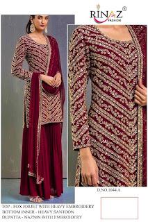 Rinaz Fashion Super hit Design Pakistani Suits Collection In Wholesale Rate
