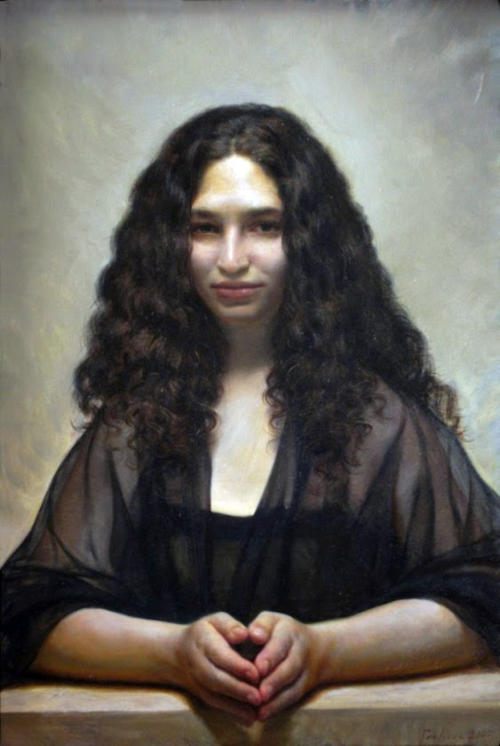 Portrait of Ruthy, Christopher  Pugliese, Self Portrait, International Art Gallery