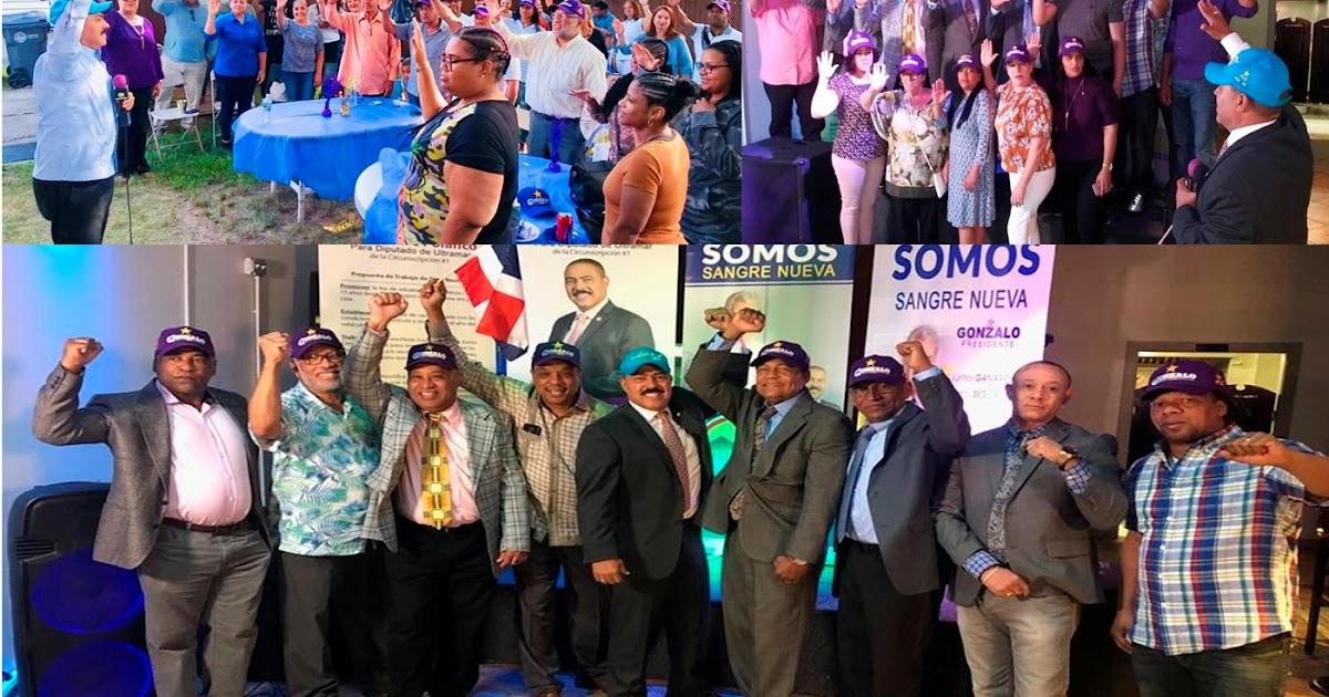 Sector externo de ultramar declara Gonzalo sigue imparable en el exterior y juramenta coordinadores en tres ciudades