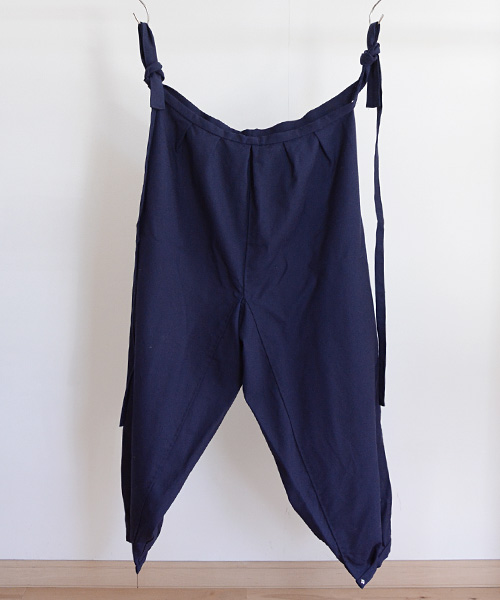 もんぺ FUNS ジャパンヴィンテージ ワークパンツ 60~70年代 紺 Monpe Pants Japanese Vintage Farming Work Wear Navy