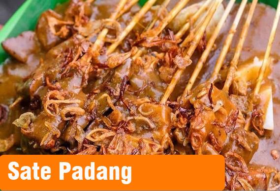 Sate Padang, cara membuat Sate Padang, resep Sate Padang, masakan padang, sate paling enak