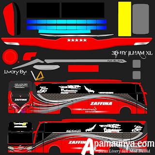 Livery Zaffina Bussid Terbaru JB3+ Versi SHD