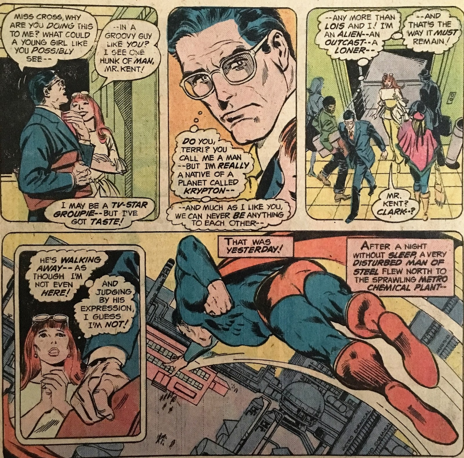 Chris Is On Infinite Earths Superman 307 1977