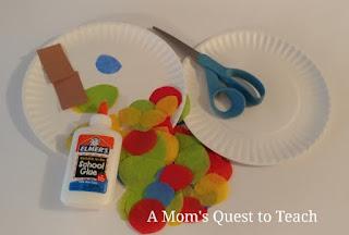 Toddler craft supplies