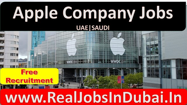 Apple Company Jobs In Dubai & Saudi 2020
