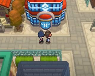 Pokemon Negro Absoluto para NDS Centro Pokemon