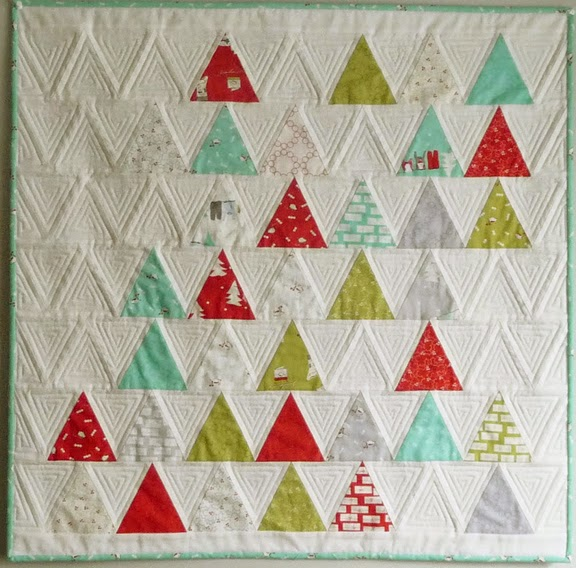 Barbara Brackman S Material Culture Thousand Pyramids Charm Quilt