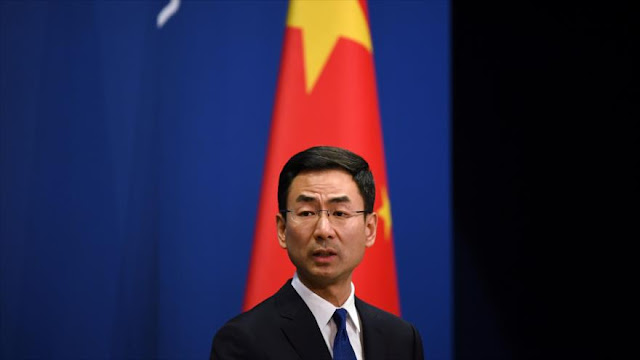 China insta a EEUU a cesar uso político de crisis por COVID-19