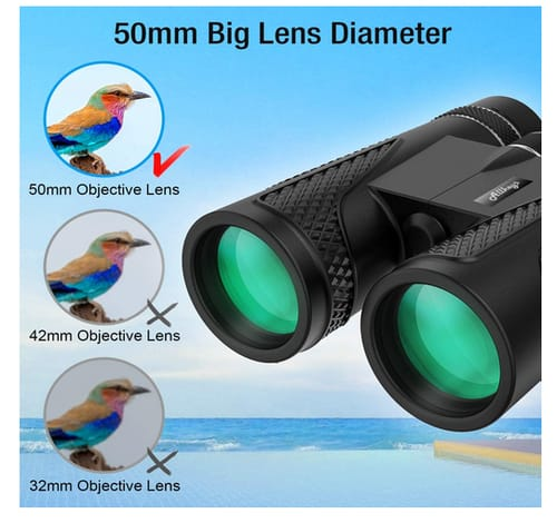 Allkeys HD Professional Compact Binoculars for Adults