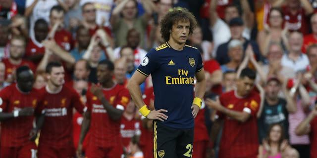 Arsenal run over by Liverpool, Emery: David Luiz is smart!