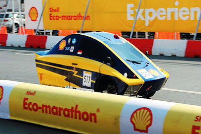 Antawirya Undip Peringkat 5 Shell Eco-Marathon Asia 2016