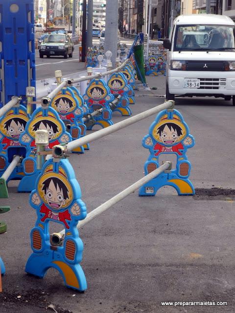 barras de protección kawaii en Tokio