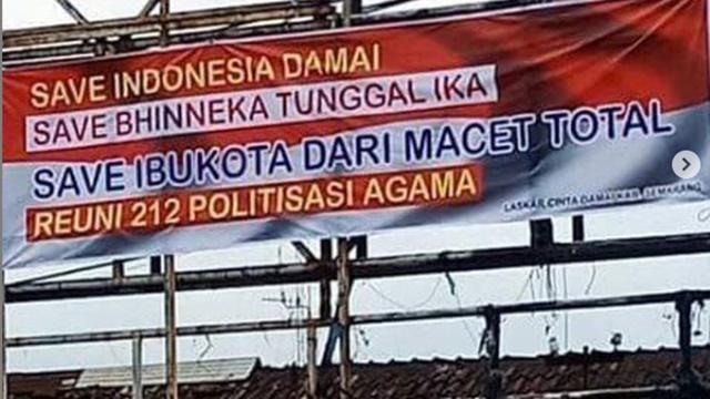 Jelang Reuni PA 212, Ustadz Tengku Zulkarnain: Spanduk Panik Mulai Ditebar