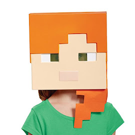 Minecraft Disguise Alex Mask Gadget