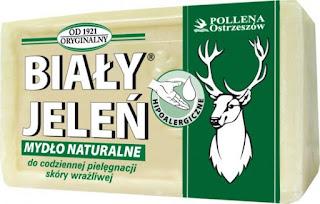 bialy-jelen-mydlo-szare-leczenie-tradziku